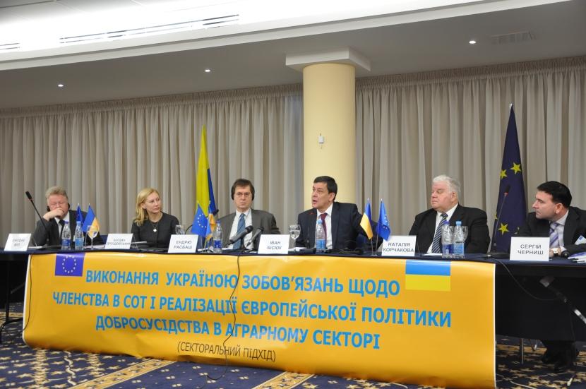 Сільське господарство: Україна рухається до виконання своїхзобов'язань