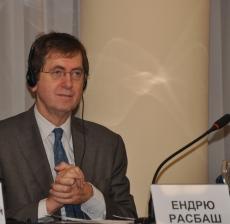 Ендрю Расбаш, керівник Управління програм допомоги Представництва ЄС в Україні