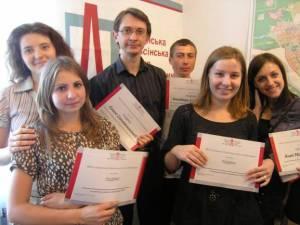 Максим Щербатюк (в центрі фото), програмний директор Української Гельсінської Спілки