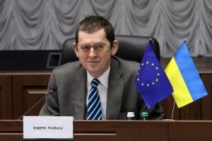 Ендрю Расбаш, керівник Управління програм допомоги в Україні, координатор з питань співпраці Представництва Європейського Союзу в Україні