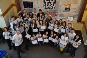 Студенти першої сесії Школи європейських студій
