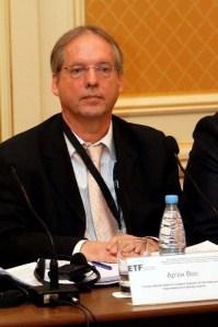 Ар'єн Вос, голова департаменту Східної Європи та Центральної Азії Європейського фонду освіти