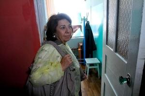 Депутат Європейського Парламенту Корінн Лєпаж в Іванківській лікарні (Київська область) .