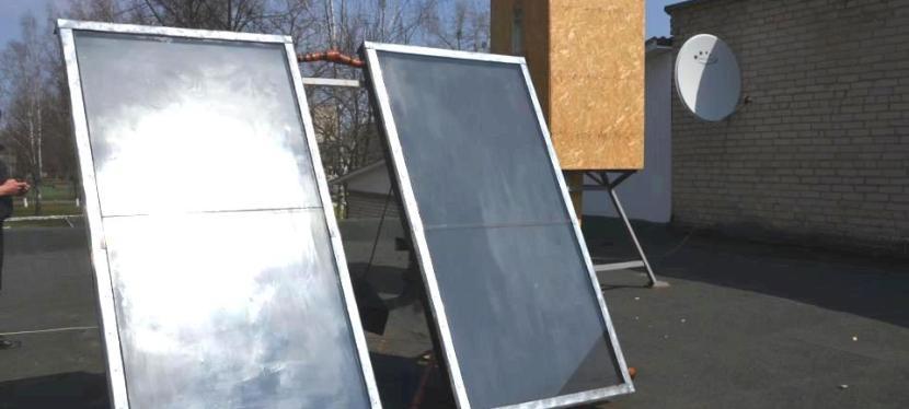 Сонячна енергія:  ЄС посприяв проведенню гарячої води у сільськушколу