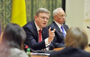Штефан Фюле, Єврокомісар з розширення та політики сусідства, та Микола Азаров, Прем'єр-міністр України