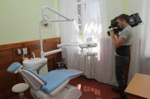 Нове стоматологічне обладнання, надане амбулаторії завдяки програмі ЄС/ПРООН