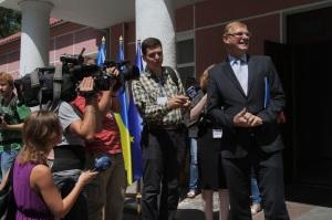 Вальтер Треттон та українські журналісти