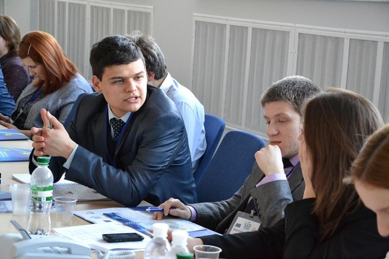 Студенти Школи європейських студій