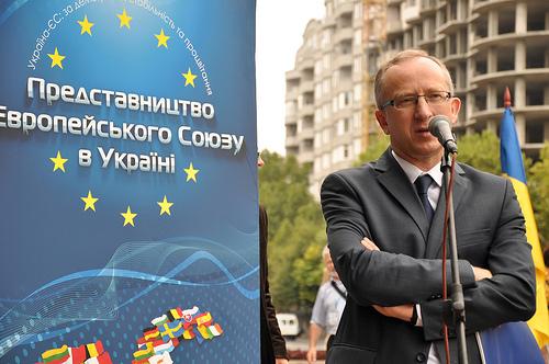Посол ЄС в Україні Ян Томбінські