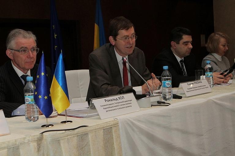 Ендрю Расбаш, Керівник Програм співпраці Представництва ЄС в Україні