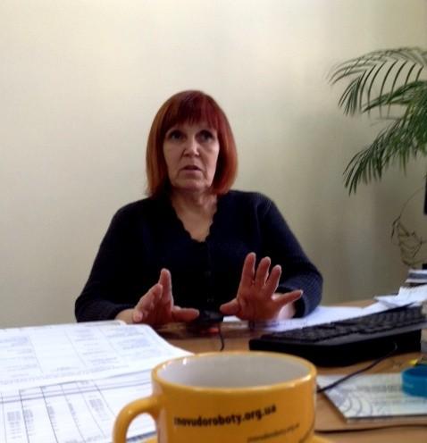 Валентина Проскурніною, керівником проекту ЄС «Знову до роботи: реінтеграція батьків і матерів до професійного життя після відпустки по догляду за дитиною».