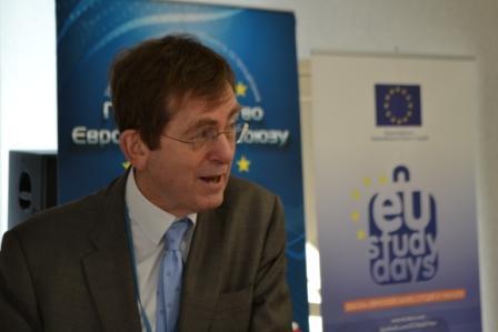 Ендрю Расбаш, керівник програм співробітництва Представництва Європейського Союзу в Україні