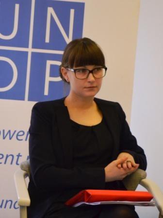 """Ірина Федорович, координатор проекту """"Досягнення рівності: спільний підхід для покращення стану рівності та недискримінації"""""""