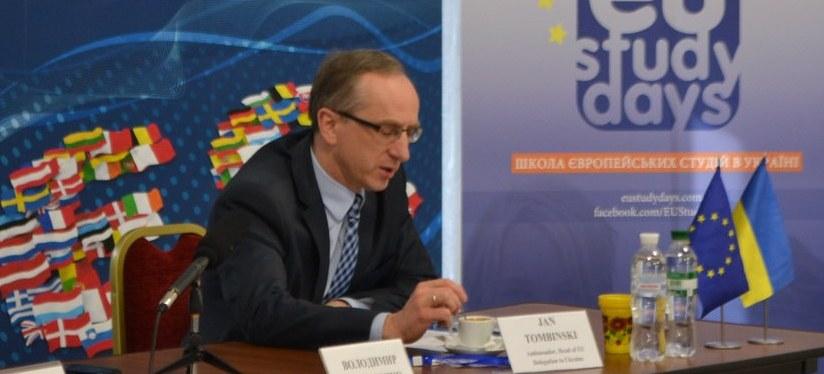 Ян Томбінський: асоціація з ЄС зміцнить суверенітет України (відеолекції)