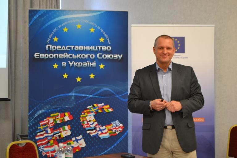 Пьотр Бартожек, експерт місії EUBAM з питань розслідування організованої злочинності