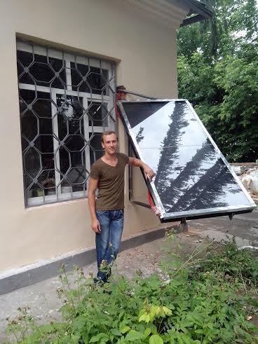 Максим Бабаєв, асистент з енергетики