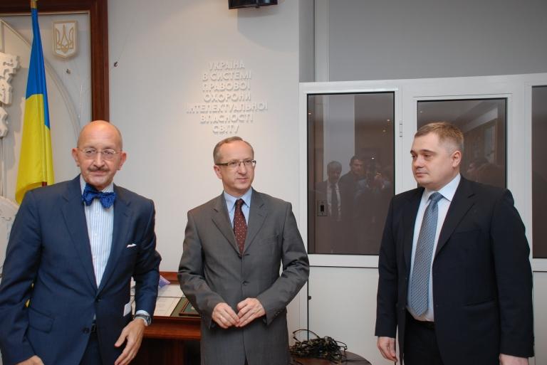 Запуск нової ініціативи Twinning «Удосконалення правової охорони та захисту прав інтелектуальної власності в Україні»