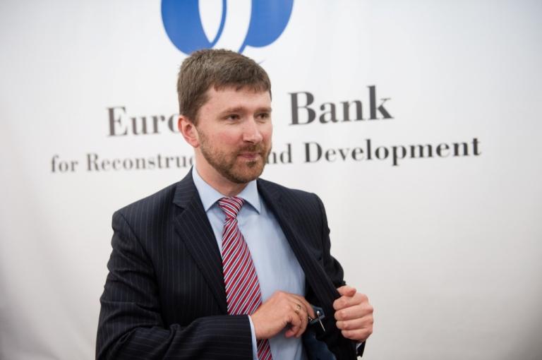 Антон Усов, старший радник з зовнішніх зв'язків Європейського банку реконструкції та розвитку
