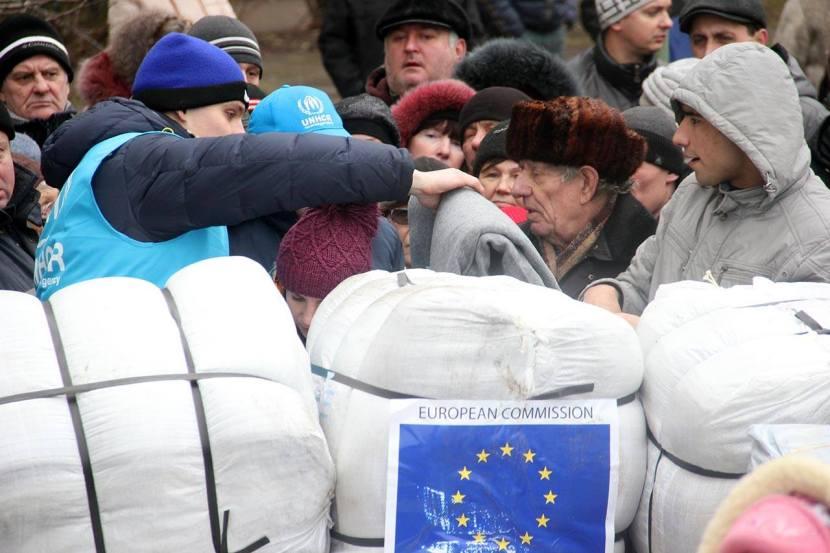 ЄС надіслав Україні 85 тон гуманітарноїдопомоги