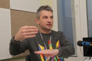 Роман Скрипін, співзасновник і ведучий каналу Громадське ТБ