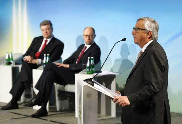 Жан-Клод Юнкер: «За вами реформи – за намипідтримка»