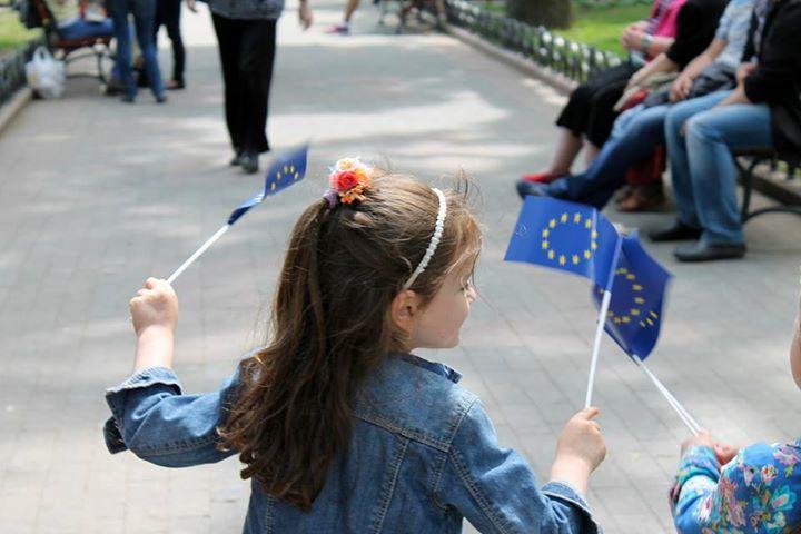 Як українці відзначали Дні Європи –фоторепортаж