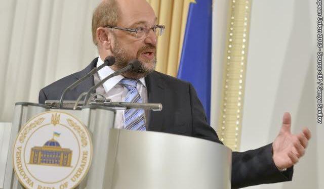Виступ Президента Європарламенту Мартіна Шульца у Верховній РадіУкраїни