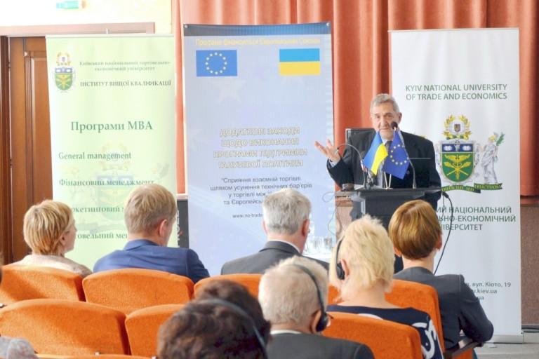 Стефанос Іоакімідіс, керівник проекту ЄС «Додаткові заходи щодо виконання Програми підтримки галузевої політики «Сприяння взаємній торгівлі шляхом усунення технічних бар'єрів у торгівлі між Україною та Європейським Союзом».