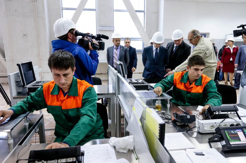 ЄС надає Запорізькій АЕС тренувальне обладнання –фоторепортаж