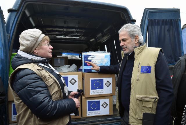 Євросоюз збільшує гуманітарну допомогуУкраїні