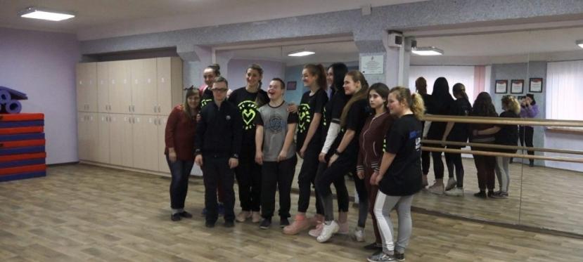 ЄС фінансував інклюзивну танцювальну студію для дітей уХаркові