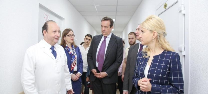 ЕИБ кредитовал ремонт шести медицинский учреждений вХарькове