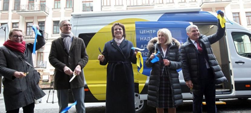 «U-LEAD з Європою» передала два мобільних ЦНАПи громадам Дніпропетровської та Хмельницькоїобластей