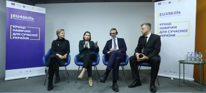 EU4Skills допомагає зробити профтехосвіту в Україні якісною іпрестижною