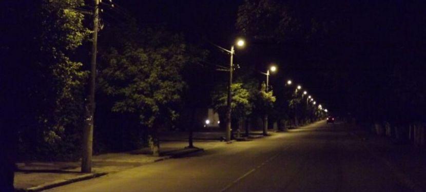 ЄС співфінансував модернізацію вуличного освітлення уСамборі