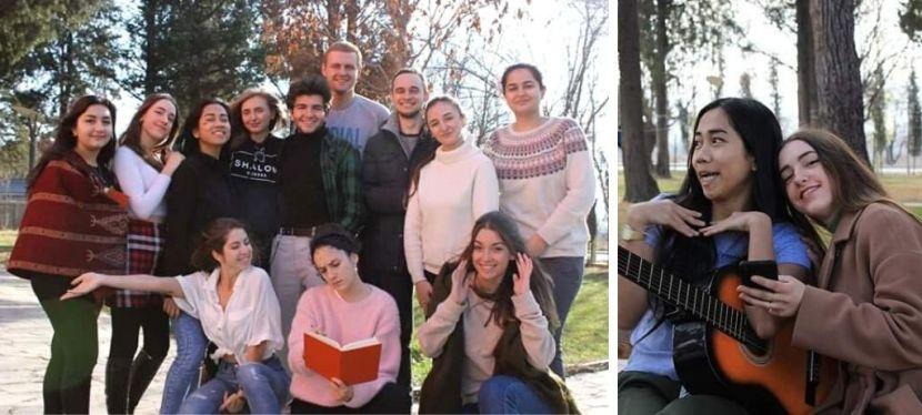 Чернівецька студентка вчилася протидіяти популізму в Грузії за програмоюErasmus+