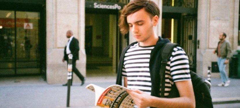 Київський студент про навчання в Парижі за програмоюErasmus+