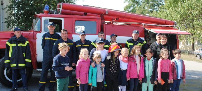 «U-LEAD з Європою» допоміг створити добровільні пожежні команди на Дніпропетровщині