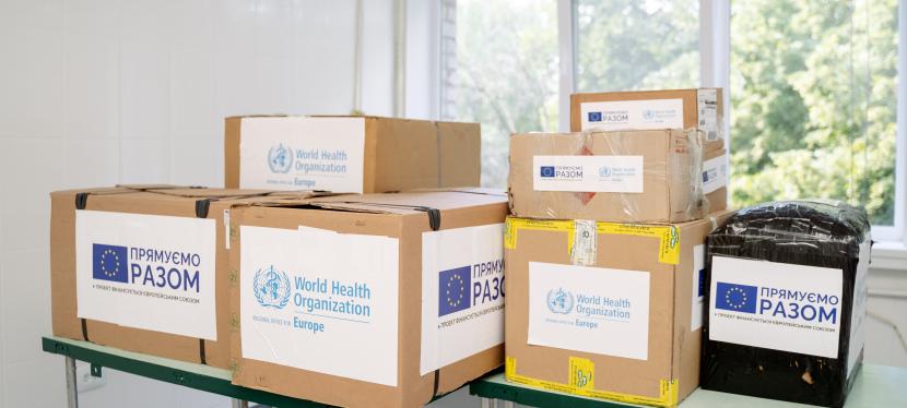 ЄС і ВООЗ надали Україні обладнання для кращого тестування наCOVID-19