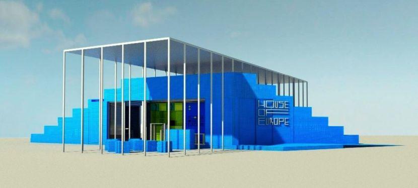 House of Europe представила проєкт мобільного павільйону, що подорожуватимеУкраїною